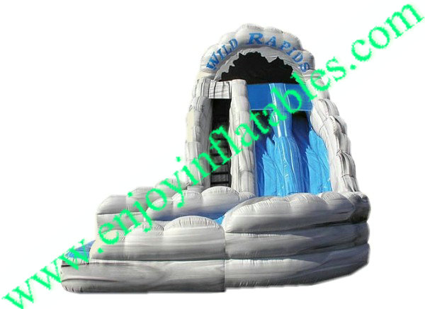 YF-wild rapids inflatable water slide-63