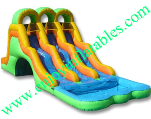 YF-Triple Lane Water Slide-58