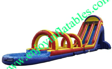 YF-inflatable screamer water slide-46