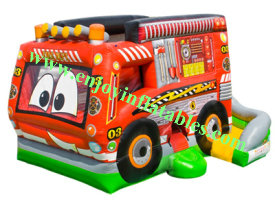 YFBN-60 Fire Truck Inflatable Combo