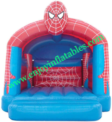 YF-spiderman inflatable bounce house-11