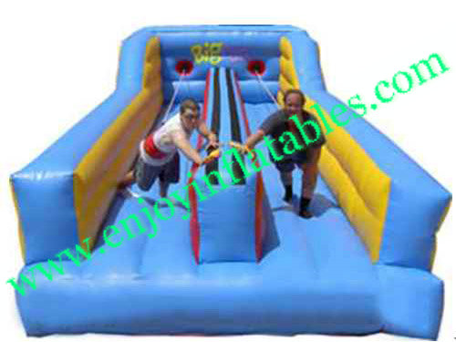 YF-inflatable bungee run-35