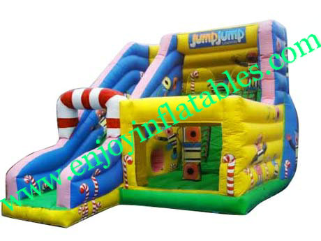 YF-commercial inflatable combo-25