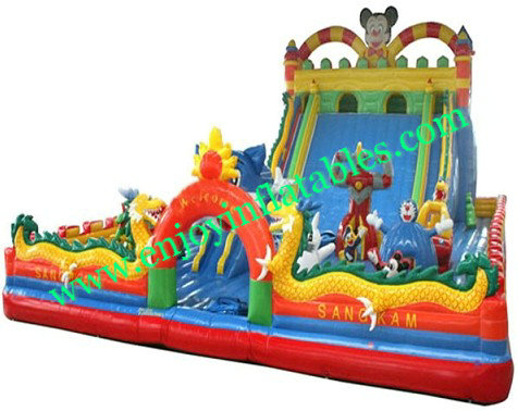 YF-inflatable playground slide-55
