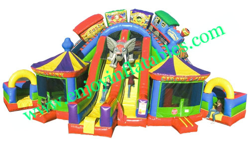YF-circus inflatable fun city-38