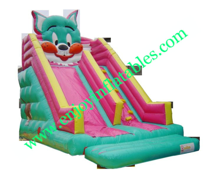 YF-cat inflatable slide-98
