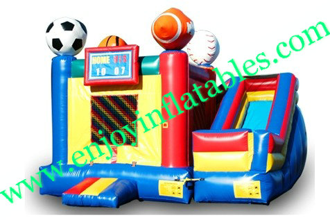 YF-inflatable bouncer combo-36