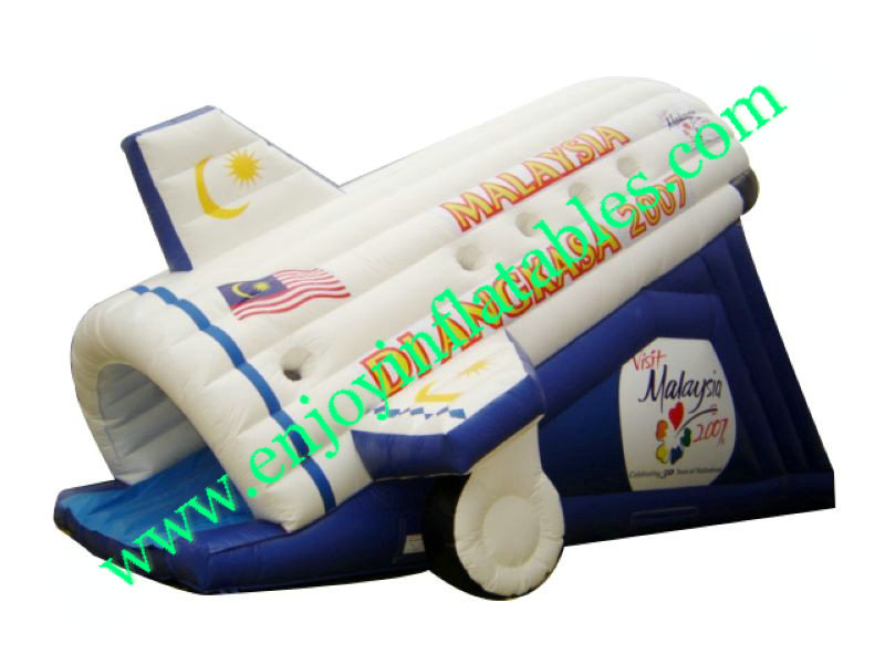 YF-airplane inflatable slide-83