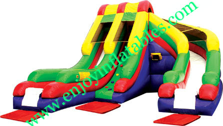 YF-inflatable Helix Slide-74