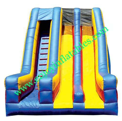 YF-double lane inflatable slide-73