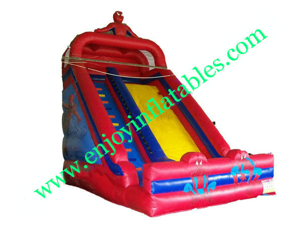 YF-spiderman inflatable slide-55