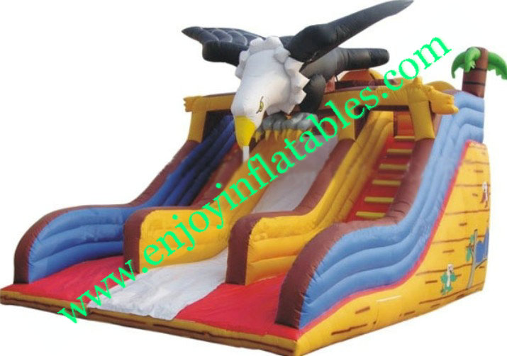 YF-inflatable eagle slide-41