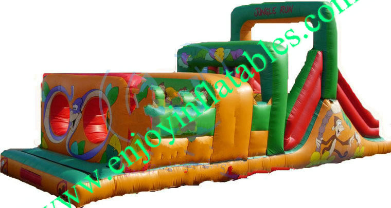 YF-inflatable obstacle course-56