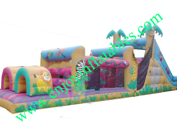YF-inflatable obstacle course-51