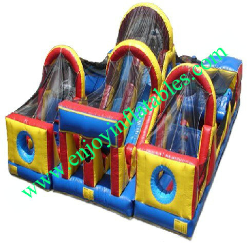 YF-inflatable obstacle course-47
