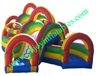 YF-inflatable obstacle course-46