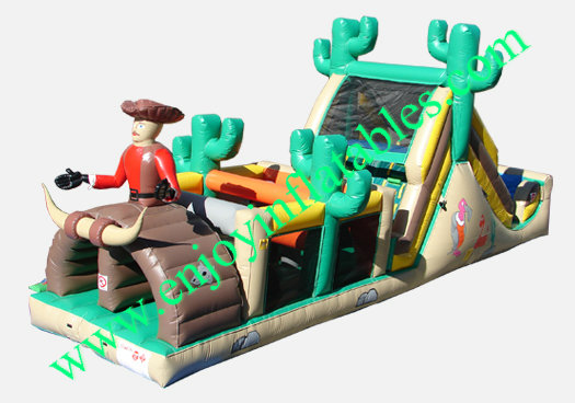 YF-inflatable obstacle course-31