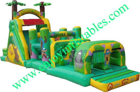 YF-inflatable obstacle course-30