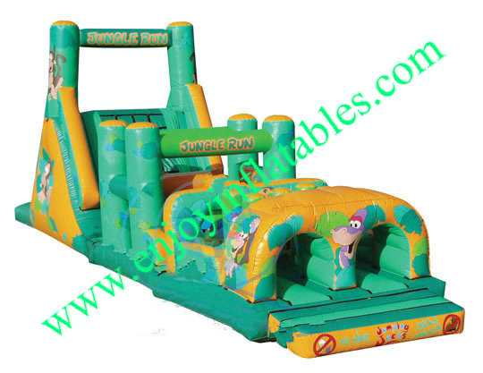 YF-inflatable obstacle course-26