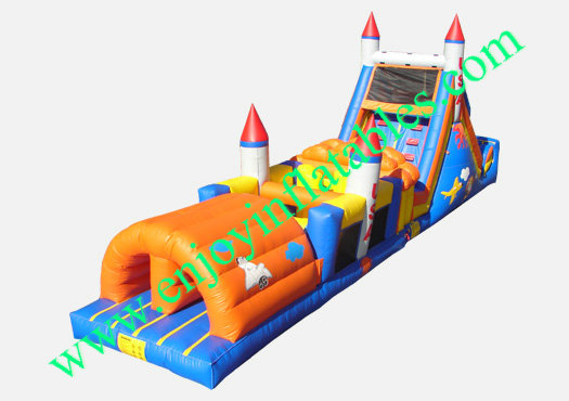 YF-inflatable obstacle course-18