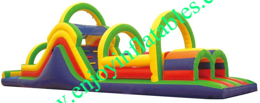 YF-inflatable obstacle course-7