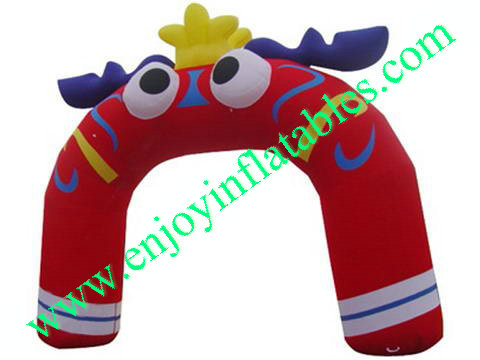 YF-inflatable arch-6