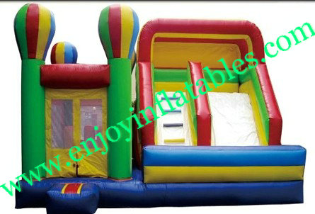 YF-giant inflatable combo slide-87