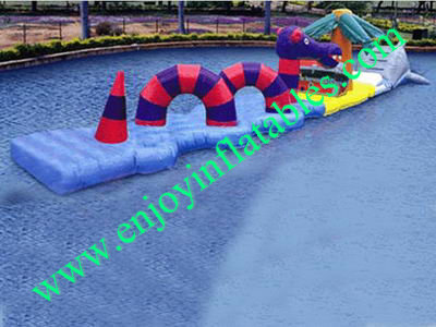 YF-inflatable water obstacle-77