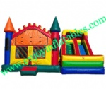 YF-giant inflatable combo slide-89