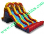 YF-Triple Lane Water Slide-57