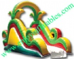 YF-inflatable slide