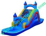 YF-inflatable castle water slide