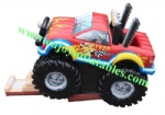 YFBN-64 Monster Truck Bouncy Slide Combo
