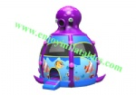 YFBN-51 Inflatable Octopus Bouncy Castle