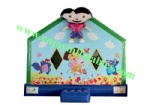YFBN-48 Dora Mini Inflatable Palyhouse