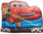 YFBN-47 Cartoon Red Car Inflatable MoonWalker for Sale