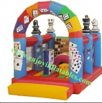 YFBN-26 poker bouncer house