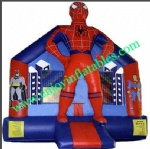 YF-spiderman inflatable bounce house-12