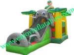YF-inflatable castle slide combo-117