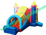 YF-inflatable castle slide combo-118