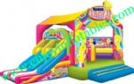 YF-two lane inflatable combo-124