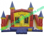 YF-inflatable castle slide combo-126