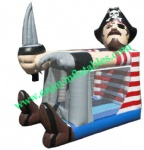 YF-clown inflatable bouncer-13