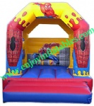 YF-spiderman inflatable bouncy castle101