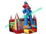 YF-clown inflatable bouncer-14