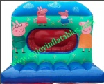 YF-peppa pig inflatable bouncy castle98