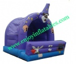 YF-inflatable clown bounce house-97