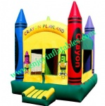 YF-inflatable crayon bounce house-92
