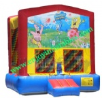 YF-inflatable bouncer spongebob-58