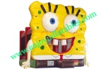 YF-spongebob inflatable bounce house-52